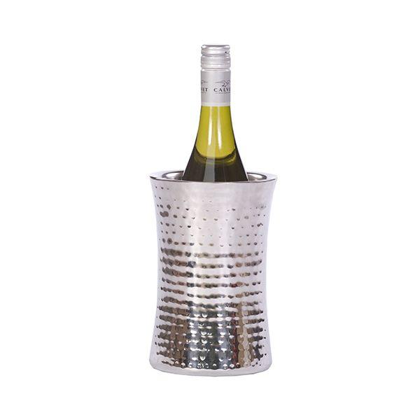 Epicurean Hammered Steel Concave Wine Cooler