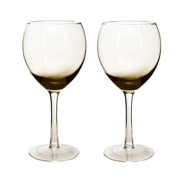 Denby Halo / Praline White Wine Glass Pack Of 2