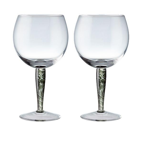 Denby Jet Set Of 2 Gin Glasses