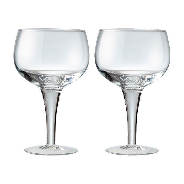 Denby China Set Of 2 Gin Glasses