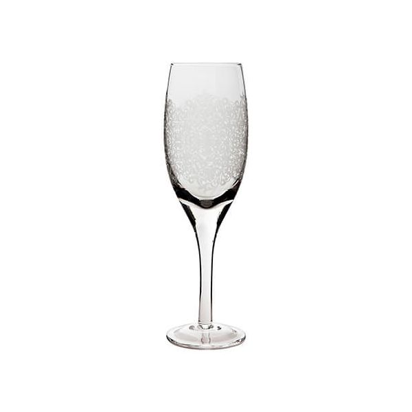 Denby Monsoon Filigree White Wine Glass Pack Of 2