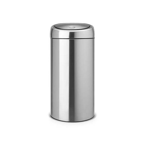 Brabantia Touch Bin Recycle 20 + 20 Litre Matt Steel Fingerprint Proof