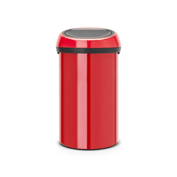 Brabantia Touch Bin 60 Litre Passion Red