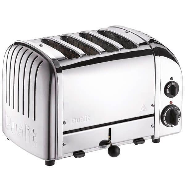 Dualit Classic Vario AWS Polished 4 Slot Toaster With Free Gift