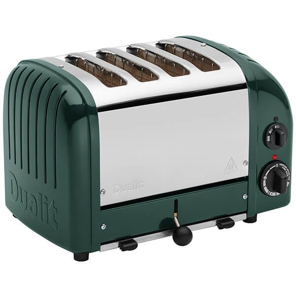 Dualit Classic Vario AWS Evergreen 4 Slot Toaster With Free Gift