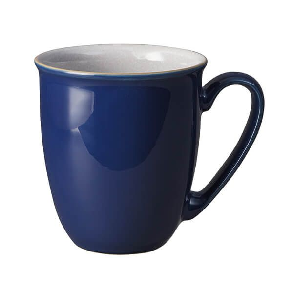 Denby Elements Dark Blue Coffee Beaker/Mug