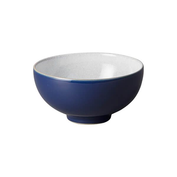 Denby Elements Dark Blue Rice Bowl