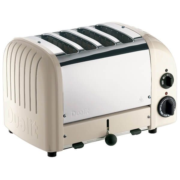 Dualit Classic Vario AWS Clay 4 Slot Toaster With Free Gift