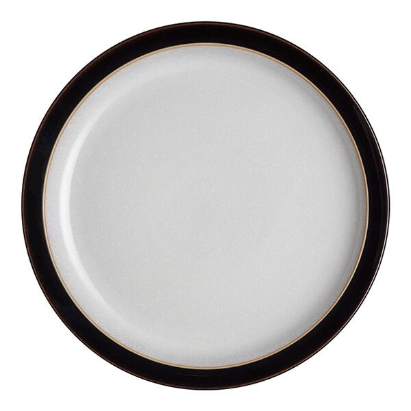 Denby Elements Black Medium Plate