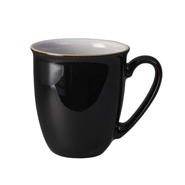 Denby Elements Black Coffee Beaker/Mug