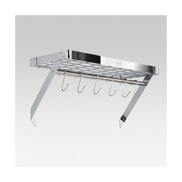 Hahn Chrome Metal Wall Rack