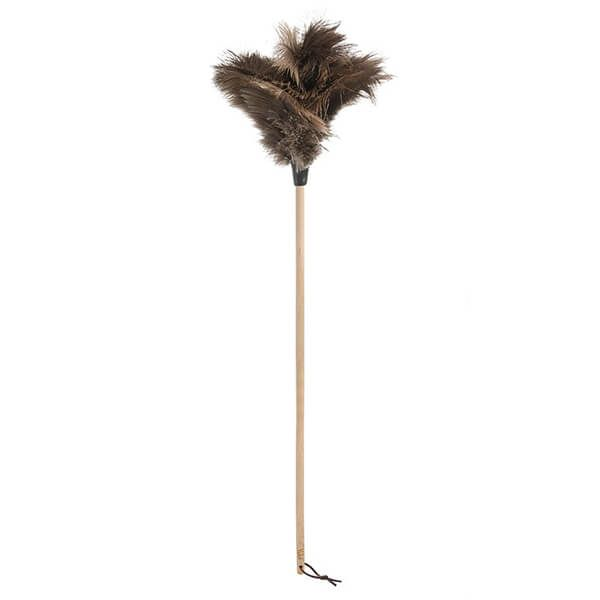 Valet Ostrich Feather Duster Beech Handle 1.2m