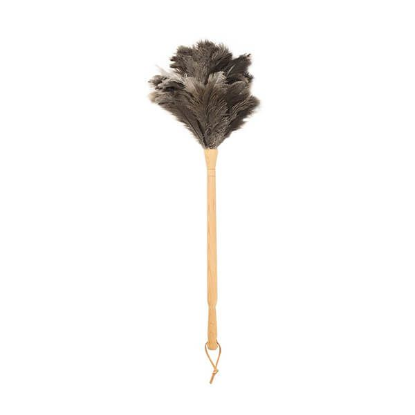 Valet Ostrich Feather Duster Beech Handle 50cm