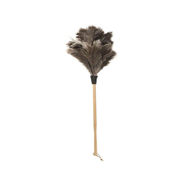 Valet Ostrich Feather Duster Beech Handle 44cm