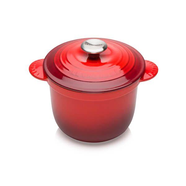 Le Creuset Cast Iron Cocotte Every 18cm Rice Pot Cerise