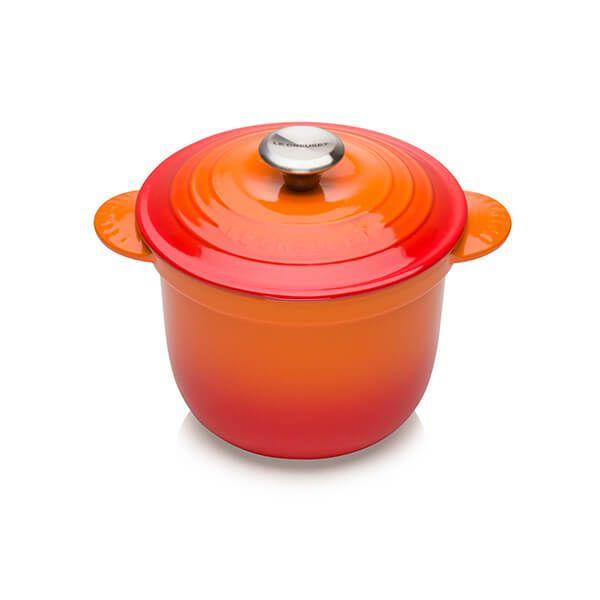Le Creuset Cast Iron Cocotte Every 18cm Rice Pot Volcanic