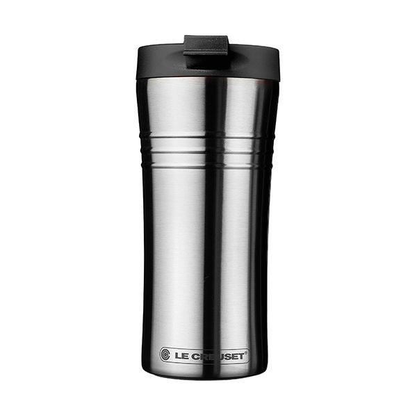 Le Creuset Black Stainless Steel Travel Mug