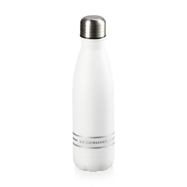 Le Creuset White Hydration Bottle 500ml