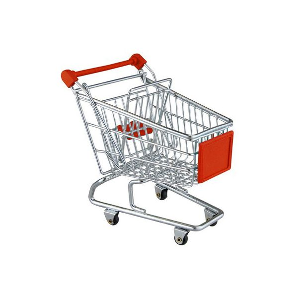 Apollo Chrome Mini Shopping Trolley