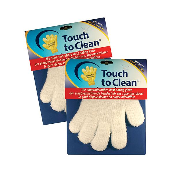 Eddingtons Touch To Clean Pair Of Microfibre Gloves