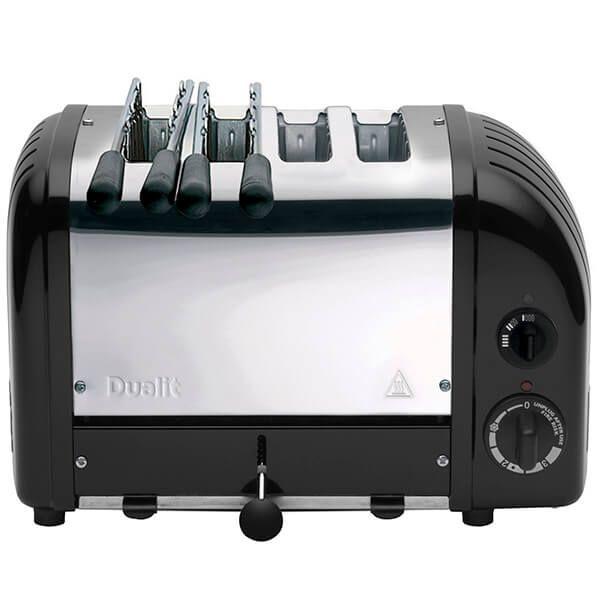 Dualit Classic Combi Vario AWS Black 2x2 Slot Toaster