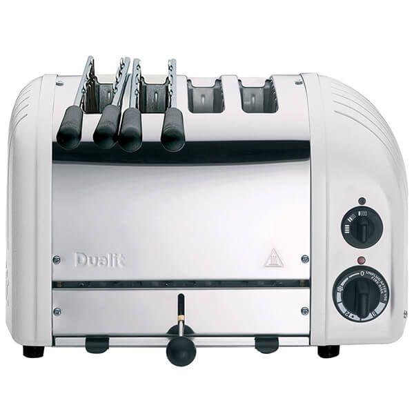 Dualit Classic Combi Vario AWS White 2x2 Slot Toaster