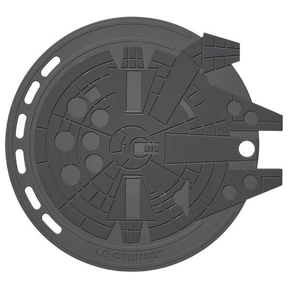 Le Creuset Millennium Falcon Cool Tool Trivet Flint