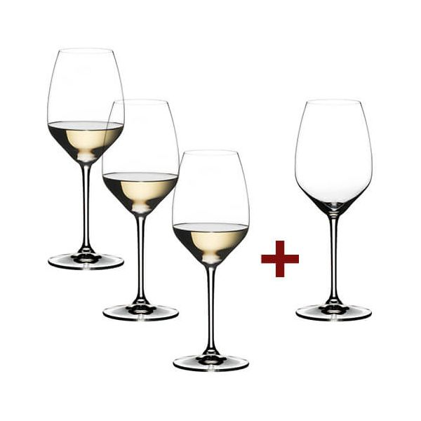 Riedel Extreme Riesling 4 for 3 Glasses