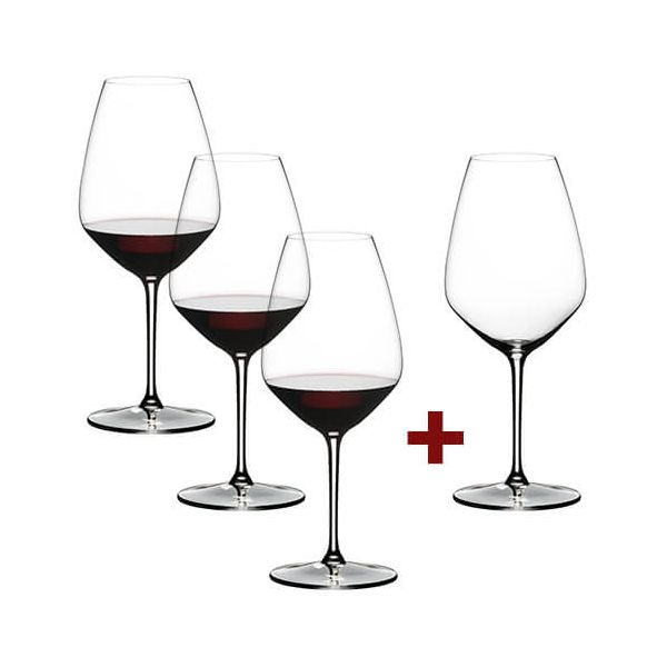 Riedel Extreme Shiraz 4 for 3 Glasses
