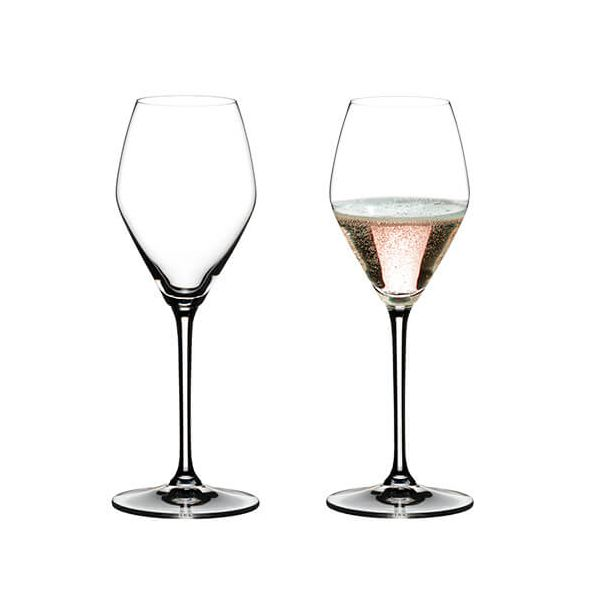 Riedel Extreme Rose / Champagne Set Of 2 Glasses