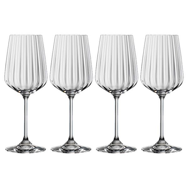 Spiegelau LifeStyle White Wine Glasses Set Of 4