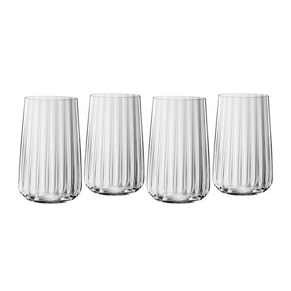 Spiegelau LifeStyle Long Drink Glasses Set Of 4