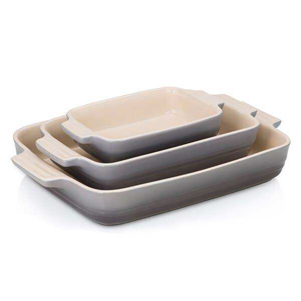 Le Creuset 3 Piece Flint Stoneware Set Black Friday 2019