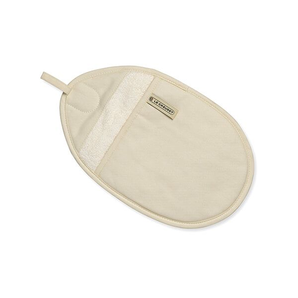 Le Creuset Cream Oval Pot Holder
