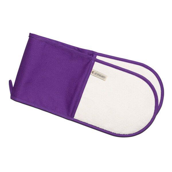 Le Creuset Ultra Violet Double Oven Gloves