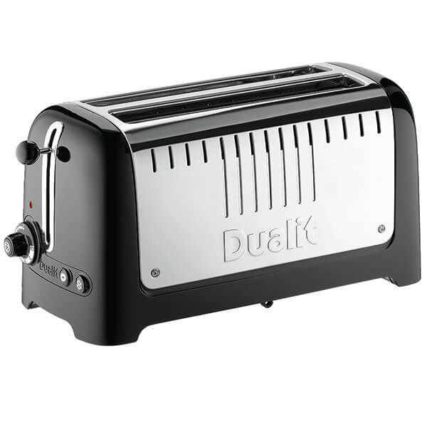 Dualit Lite 2 Long Slot Toaster Gloss Black