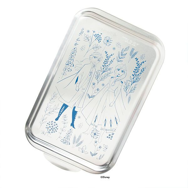 "Disney Frozen 2 - 9"" x 13"" Naturals Cake Pan with Metal Lid"