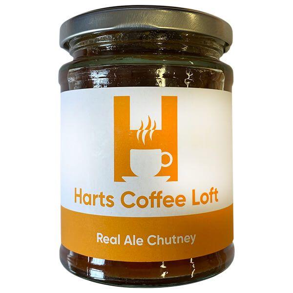 Harts Coffee Loft Real Ale Chutney 320g