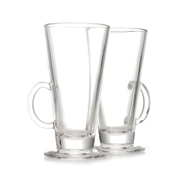 Eddingtons Boston Irish Coffee / Latte Glass Set Of 2