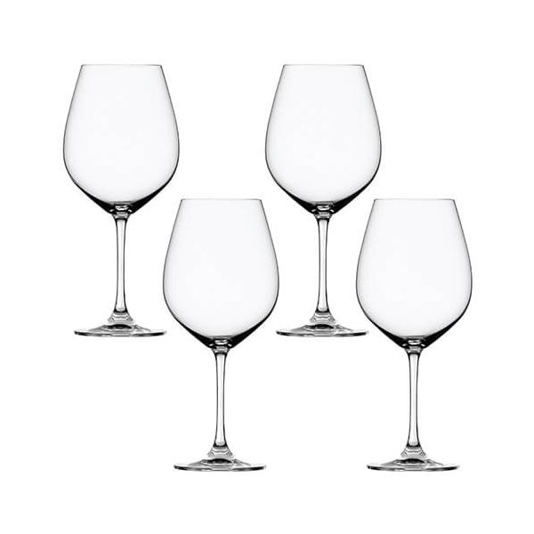 Spiegelau Salute Burgundy Wine Glass 4 Piece Set