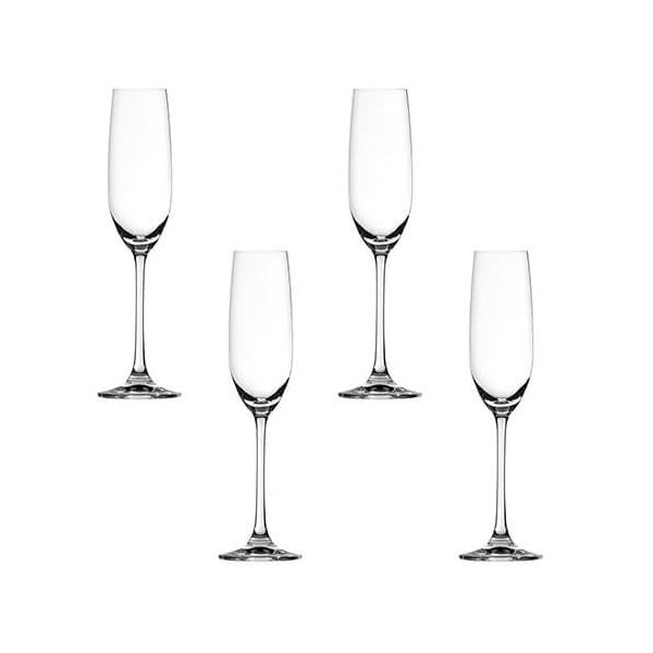 Spiegelau Salute Champagne Glass 4 Piece Set