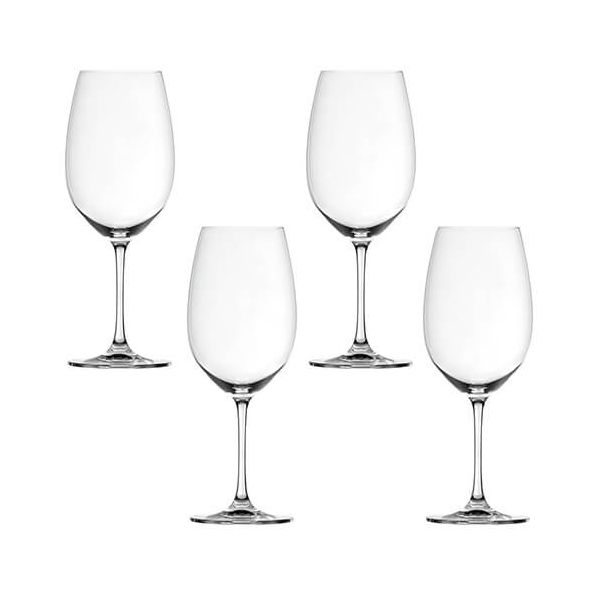 Spiegelau Salute Bordeaux Wine Glass 4 Piece Set