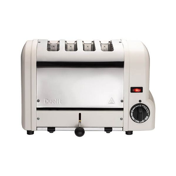 Dualit Origins Canvas White 4 Slot Toaster