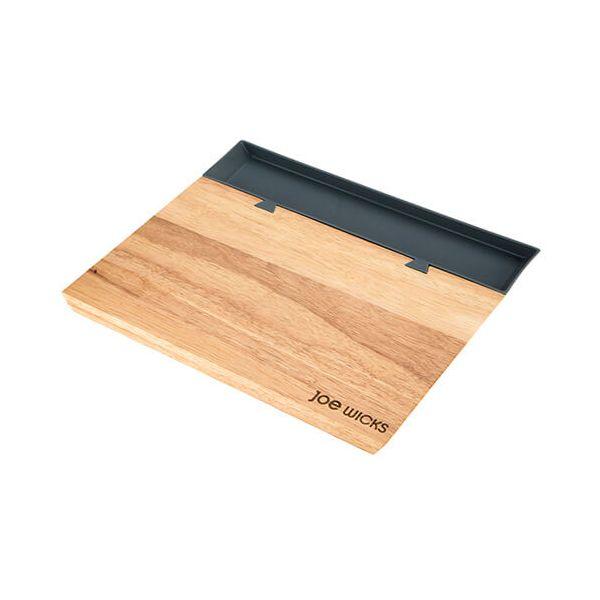 Joe Wicks Large Grey Chopping Board with Food Tray