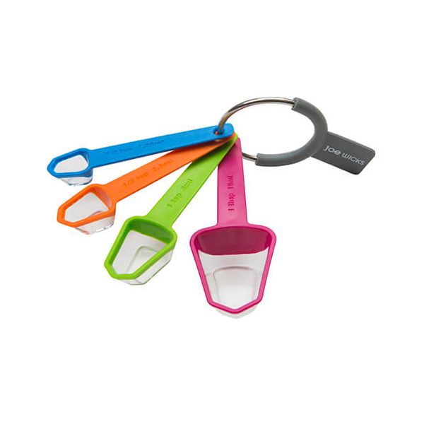 Joe Wicks 4 Piece Measuring Spoons Set