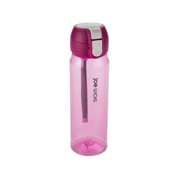 Joe Wicks Clip One Touch Bottle Raspberry 550ml