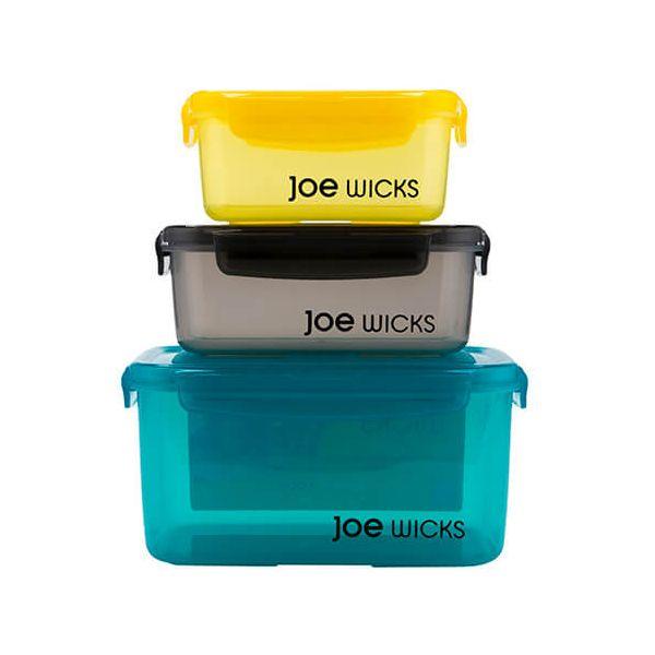 Joe Wicks Container Rectangular 3 Piece Set