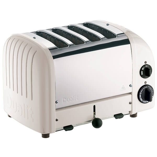 Dualit Classic Vario AWS Feather 4 Slot Toaster With Free Gift