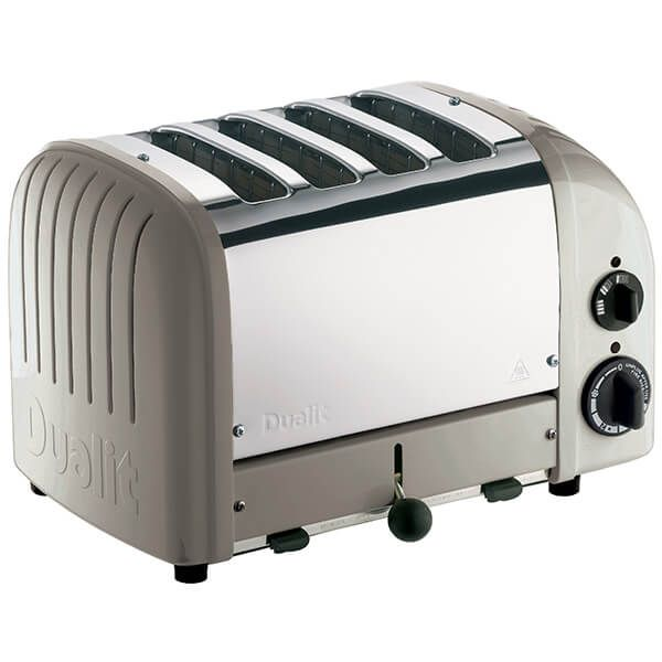 Dualit Classic Vario AWS Shadow 4 Slot Toaster With Free Gift