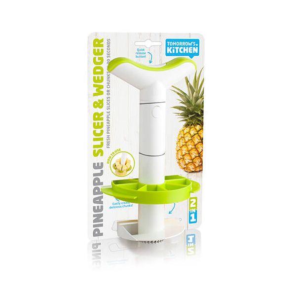 Tomorrow's Kitchen Pineapple Slicer Medium & Wedger J-Hook